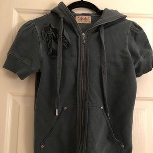 Juicy Couture short sleeve hoodie